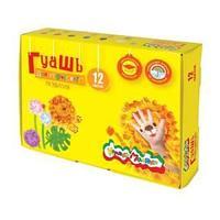 Гуашь Каляка-Маляка 17,5мл, 12 цветов 3+