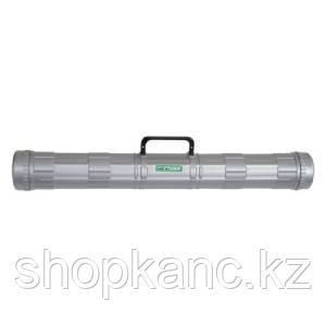 Тубус с ручкой D90мм,L700, серый, ПТ22