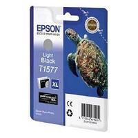 Картридж оригинальный Epson, T1577, серый.