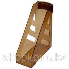 Лоток вертикальный Ультра, тонированный, коричневый.