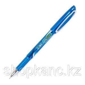 Ручка шарик. LINC OIL FLO 0,70 мм синий кругл. корп.