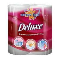 Бумажные полотенца, Мягкий знак, Deluxe, 2-сл, 2 рул/упак.