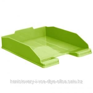 Лоток горизонтальный ЭКСПЕРТ, зеленый KIWI.