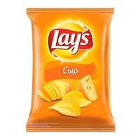 Чипсы Лейc, 80 гр, со вкусом сыра.