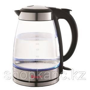 Электрический чайник, 1,7, Saturn ST-EK8421 стекло