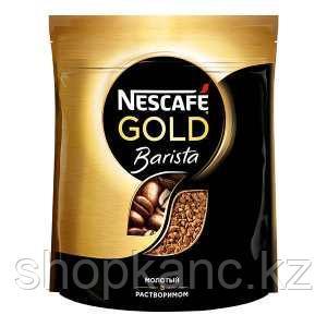 Кофе Nescafe Gold,  BARISTA мягкая упаковка 12*75г