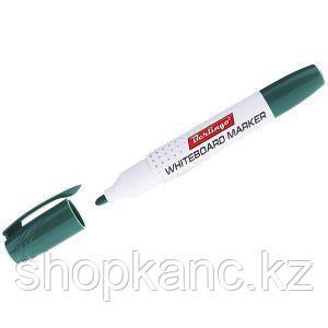 Маркер для магнитных досок зеленый, пулевидный, 2мм