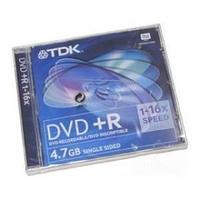 Диски TDK DVD+R  slime.