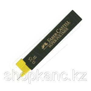 Грифели графитные  SUPERPOLYMER 0,35 мм, твердость B.