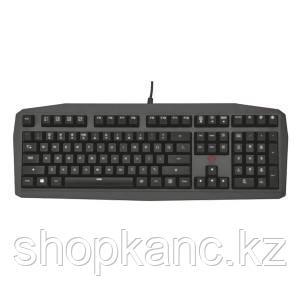 Клавиатура игровая, TRUST US GXT880 MECHANICAL KB, черный.