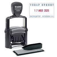 Самонаборный штамп 5435 DB  Trodat, черный