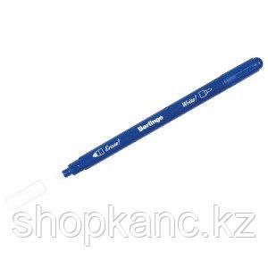 """Ручка капиллярная стираемая Berlingo """"Пиши-Стирай"""" синяя, 1,0мм"""