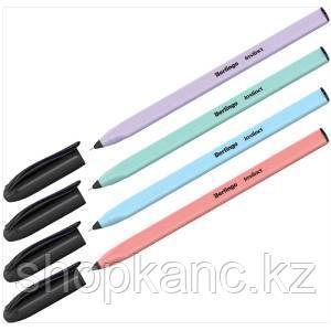 """Ручка шариковая Berlingo """"Instinct"""", 0,7мм, синяя, корпус ассорти"""