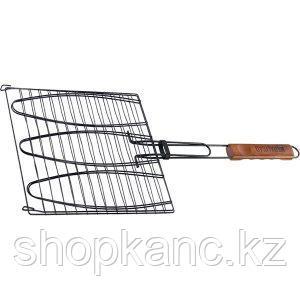 Решетка гриль для рыбы 280х280мм антиприг
