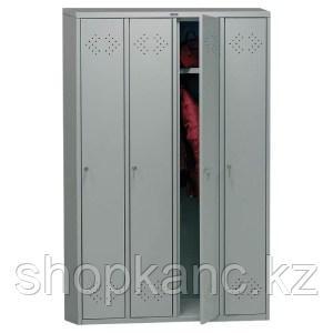 Шкаф - локер для четырех пользователей, ПРАКТИК LS-41.