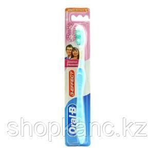 Зубная щетка 3 Эффект Деликатное отбеливание средняя 1шт