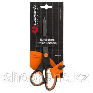 Ножницы 20,3 см пластиковые ручки c резиновыми вставками.