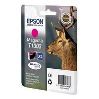 Картридж оригинальный Epson, T1303, пурпурный.