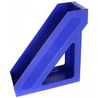 Лоток вертикальный синий  ЛТ390 БАЗИС