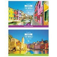 Альбом для рисования, Let's travel, А4, 16 листов.