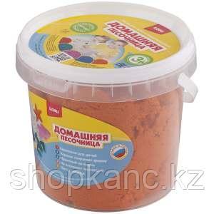 Набор для лепки, Домашняя песочница, Оранжевый песок, 1 кг.