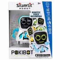 Робот Покибот белый с синим  Silverlit
