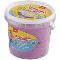 Набор для лепки, Домашняя песочница, Розовый песок, 1 кг.