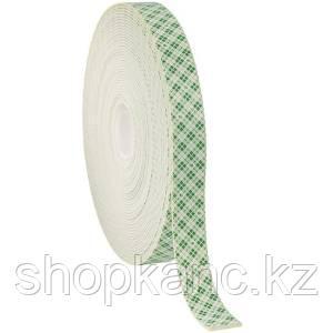 Клейкая лента двусторонняя полиуретан белая, ширина12 мм., толщина 1,6 мм.,  длина 5м.