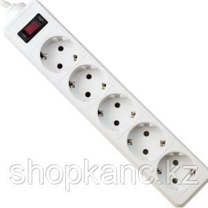 Сетевой фильтр Defender ES 5.0 - 5,0 М, 5 розеток, белый