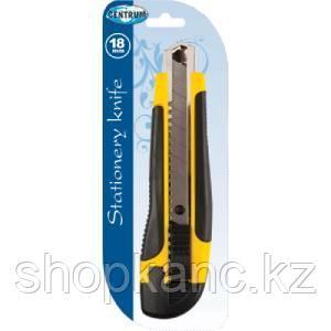 Нож канцелярский ширина лезвия 18 мм