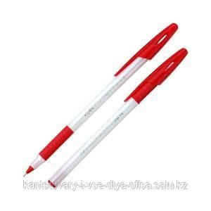 Ручка шариковая,CELLO  KUBE ECOGRIP  CLASSIC, цвет чернил - красный, 0.7 мм.