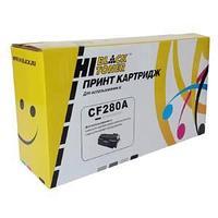 Картридж Лазерный Hewlett-Packard CF280A, 2,7K, черный.
