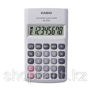 Калькулятор карманный, 8 разрядный CASIO HL-815L-WE-S-GH