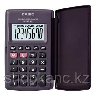 Калькулятор карманный, 8 разрядный CASIO HL-820LV-BK-S-GH