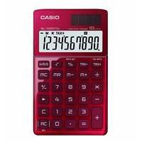 Калькулятор карманный, 10 разрядный CASIO SL-1000TW-RD-S-EH