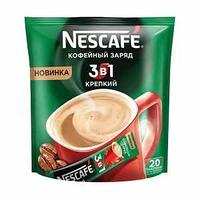 Кофе растворимый 3в1 Крепкий упаковкам  20шт *16г