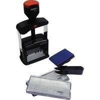 """Датер автоматический heavy-duty """"Proff"""", 4 мм, с 12 бухг терминами, в карт коробке, черный"""