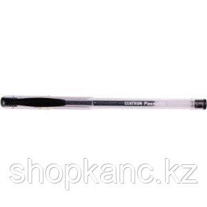 """Ручка гелевая """"Plasma"""" черная 0,7 мм."""