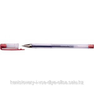 "Ручка гелевая""Plasma"" красная 0,7 мм"