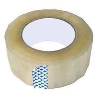 Упаковочный скотч 47 mic х 48 mm х 150 м, прозрачный.