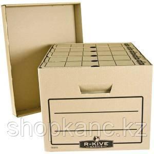Короб архивный FELLOWES, Basics, 340*450*275,  гофрированный картон, крафт.