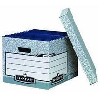 Архивный короб стандартный с крышкой, 333х285х390мм