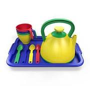 Наборы посуды из пластика