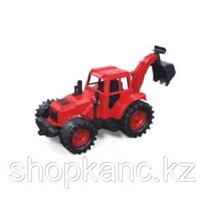 Трактор задний ковш 22см  (красно-черный)