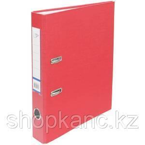 Папка-регистратор, А4, 50 мм, бумвинил/бумага, красный.