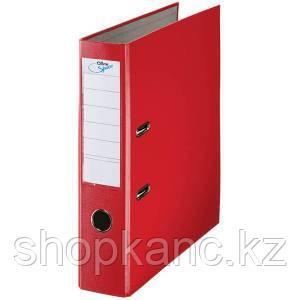 Папка-регистратор, А4, 70 мм, бумвинил/бумага, красный.