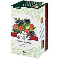 Чай Ahmad Tea, Forest Berries, травяной со вкусом и ароматом лесных ягод, 20 фольг. пакетиков.