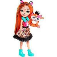 Mattel Enchantimals Кукла с питомцем - Тигрица Тэнзи