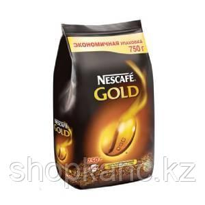 Кофе Nescafe Gold, в пакете, 750 гр.