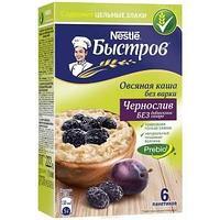 Быстров каша Овсяная с черносливом 16*222г
